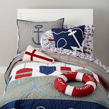 Nautical Bed Set Nautical Buoy Bedding Set The Land Of Nod