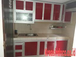 Kitchen Set Aluminium 10 Model Dan Warna Terbaru Kitchen Set Aluminium Acp Bengkel Las