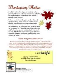 thanksgiving poetry station ideas thanksgiving
