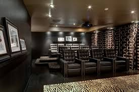Modern Media Room Ideas - dec a porter imagination home home theaters examples in design
