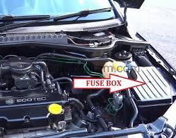 vauxhall zafira 57 plate fuse box wiring diagram simonand