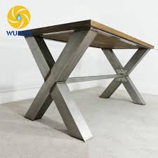 in metal table legs factory wholesale cheap z shaped metal table legs metal table leg
