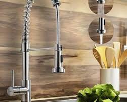 brushed nickel single handle kitchen faucet modern kitchen faucets shop
