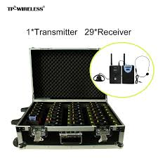 tp wireles 2 4ghz audio tour guide system wireless translation