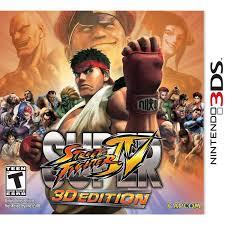 super street fighter iv 3d edition nintendo 3ds walmart com