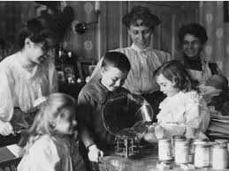 schools what were family homes like