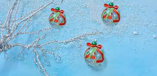 how to make easy tree ornament with glass lwork bead