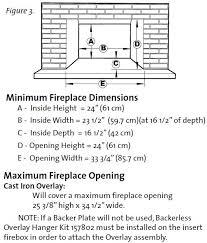 Fireplace Insert Dimensions by Jotul Gi 635 Dv Gas Fireplace Insert