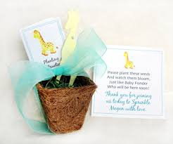 giraffe baby shower decorations sayings for baby shower seed favors baby showers ideas