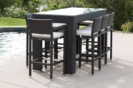 Patio Bar Chair Bar Chairs Outdoor Furniture Sets The Home Redesign Refreshing
