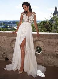 a linie spaghetti trager sweep pinsel zug organza brautkleid mit perlen verziert p16 wedding dresses 241 90 a line princess scoop neck sweep