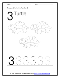number names worksheets trace number worksheet free printable