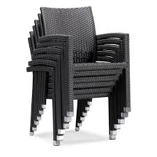 Stackable Outdoor Chair Black Outdoor Chairs U0026 Breeze Lounge Chair Black Outdoor