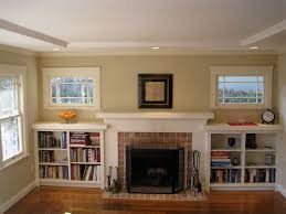 built in bookcases around fireplace bing images living room