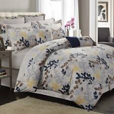 Blue Yellow Comforter Buy Cotton Blue Comforter Sets From Bed Bath U0026 Beyond