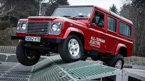 new land rover defender concept 2013 land rover electric defender concept youtube