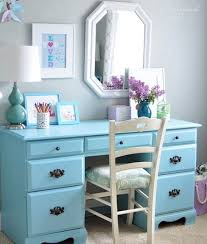 How To Refinish Desk Best 25 Painted Desks Ideas On Pinterest Desk Makeover Yellow
