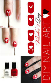 valentine u0027s day diy nail art online fashion magazine india