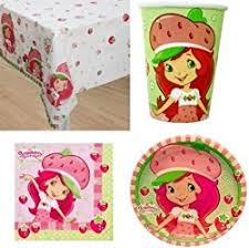 strawberry shortcake party supplies strawberry shortcake party ideas creative party themes and ideas