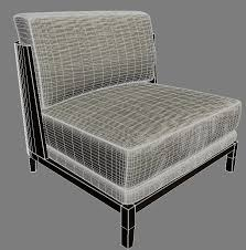 Christian Liaigre Armchair Liaigre Aspre 3d Model