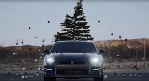 nissan takes tree with gt r the news wheel