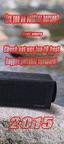 Rugged Wireless Speaker Best 25 Best Outdoor Bluetooth Speakers Ideas On Pinterest Best