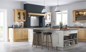 wakefield contemporary oak kitchen stori