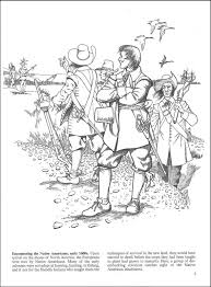 colonial america coloring pages coloring pages
