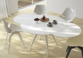 expandable round dining room tables white expandable round dining table the kienandsweet furnitures