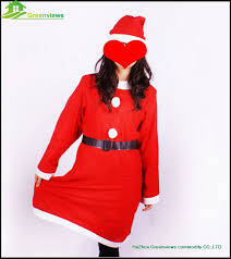 santa claus suits women christmas dress suit christmas clothes dress suit