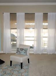 Bamboo Curtains For Windows Blayne S Second Design Dilemma Solved Bamboo Blinds Sheer