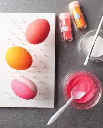 Easter Egg Decorating With Glitter by Glittered Easter Eggs Martha Stewart