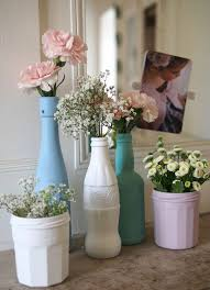 Vase Made From Plastic Bottle Best 25 Vase Ideas Ideas On Pinterest Decorating Vases Painted