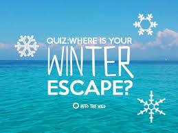 Where Is Winter Where Is Your Winter Escape Playbuzz