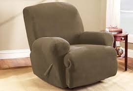 can you put a slipcover on a reclining sofa recliner slipcovers furniture covers surefit