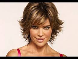 how to cut a short ladies shag neckline part 1 of 2 how to cut and style your hair like lisa rinna haircut