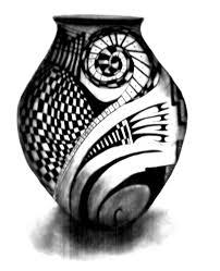 mata ortiz pot design by amandanoelledesign on deviantart