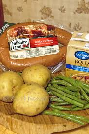 kielbasa green bean and potato casserole the midnight baker