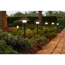 hton bay malibu lights amazon com low voltage led bronze outdoor light kit 8 pack clothing