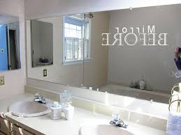 framing out a bathroom mirror lowe u0027s frame kit diy ideas and also