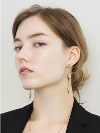 two way earrings fitzgerald two way earrings