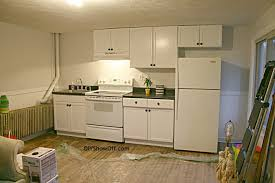 White Painted Cabinets With Glaze by Lovely Off White Painted Kitchen Cabinets Off White Kitchen