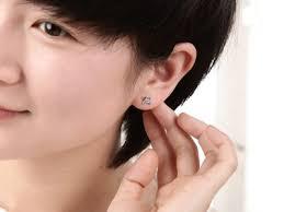 1 4 carat diamond earrings affordable diamond stud earrings on 10k white gold jeenjewels