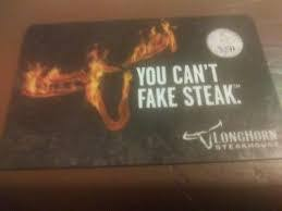 longhorn gift cards 60 longhorn steakhouse gift card for 50 in waxhaw nc tradyo