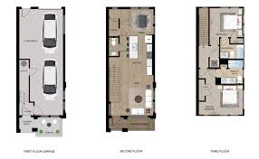 Unit Floor Plans by New Townhomes Charlotte Nc Check Out Our Floorplans