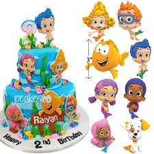bubble guppies edible fondant characters u2013 trish gayle