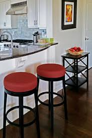 kitchen islands and breakfast bars kitchen islands breakfast bar with red and black stools near