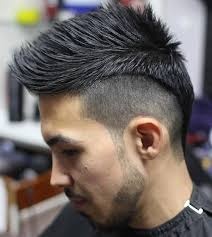 new age mohawk hairstyle master 50 life changing shaved sides haircuts for men