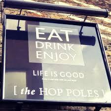hop poles london