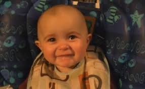 Too Cute Meme Face - baby has an emotional reaction to her mother s singing too cute